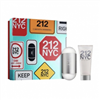 212 NYC CAROLINA HERRERA ESTUCHE EDT 100ML + BL 100ML